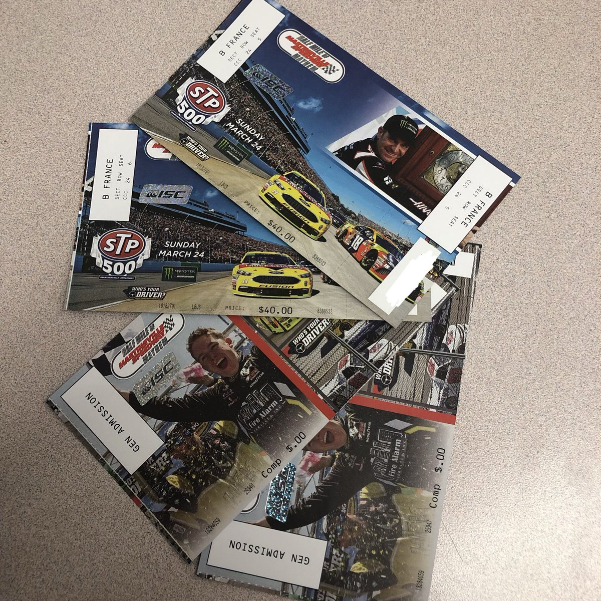 RED ALERT: This is the FINAL #STP500 TICKET GIVEAWAY!!!  To enter: Follow us, follow @OriginalSTP and retweet this post!   We will announce a winner tomorrow, winner will receive a pair of truck and cup tickets to enjoy a full weekend of fun!