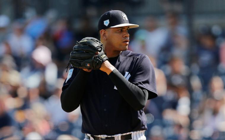 Dellin Betances to begin season on Injured List | #Yankees  Read: http://bronxpinstripes.com/spring-training/dellin-betances-to-begin-season-on-injured-list/…