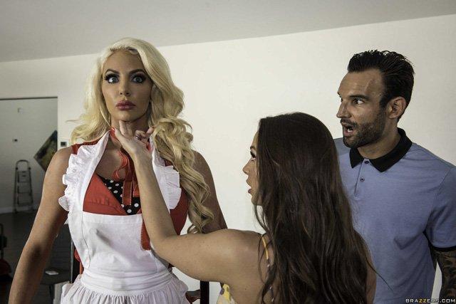Hot Fembot Maid Lela Star Goes Sexually Rogue