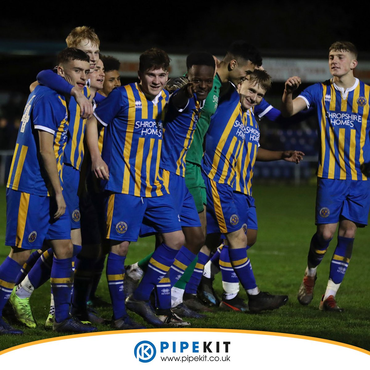 WINNERS: A great team victory in the @ShropshireFA Senior Cup with a dramatic penalty win over @telfordutd #salop <br>http://pic.twitter.com/ckP3UNa4Pg