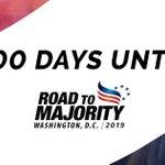 Image for the Tweet beginning: 100 days until #RTM2019!  Have you