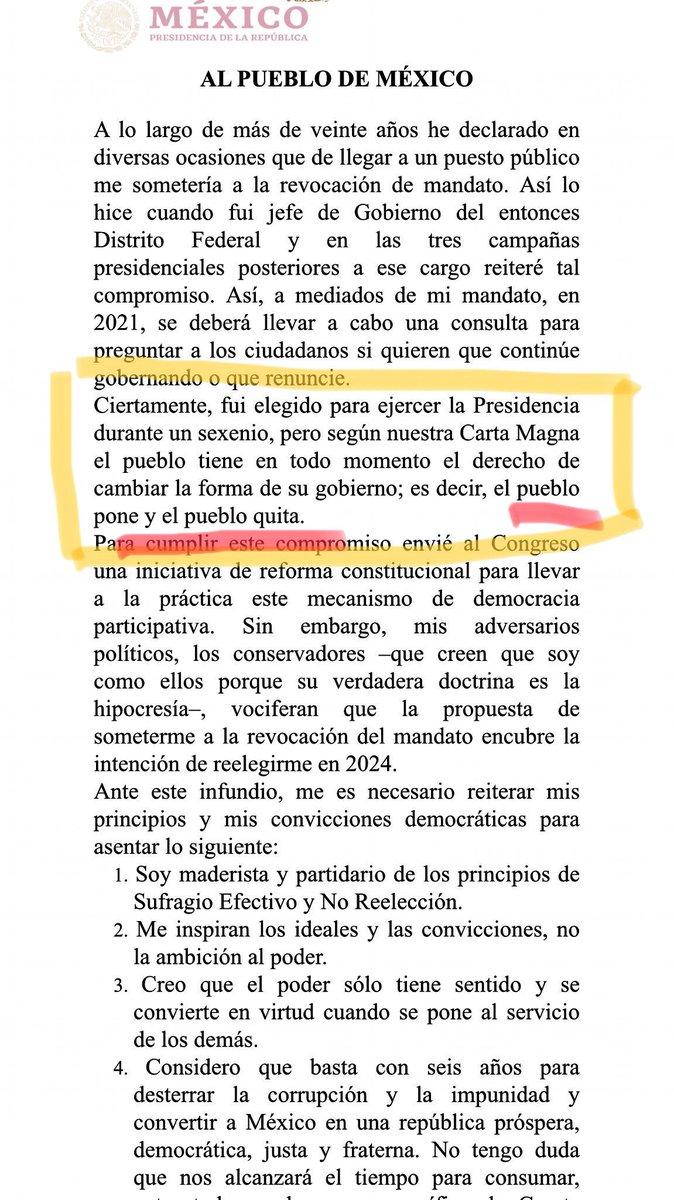 Portero Mexico's photo on #NiRevocacionNiReeleccion
