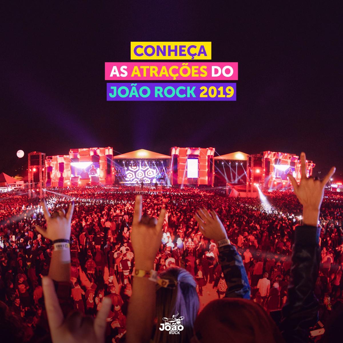 Acompanhe AO VIVO o lançamento das atrações do #JoãoRock 2019: https://t.co/J9502E9H1f https://t.co/Q9JRSYRUiB