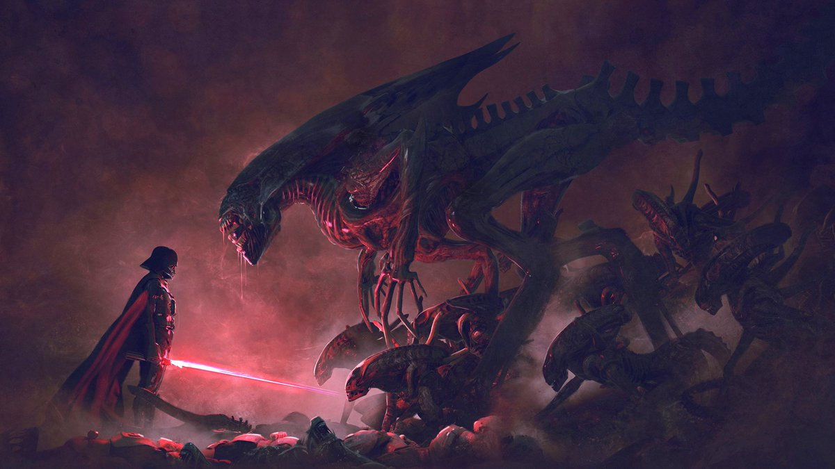 Ok, now that the #DisneyFoxDeal is completed, this is all I want in the future. .@Disney .@starwars #StarWars #Alien<br>http://pic.twitter.com/W8hnxY44eb