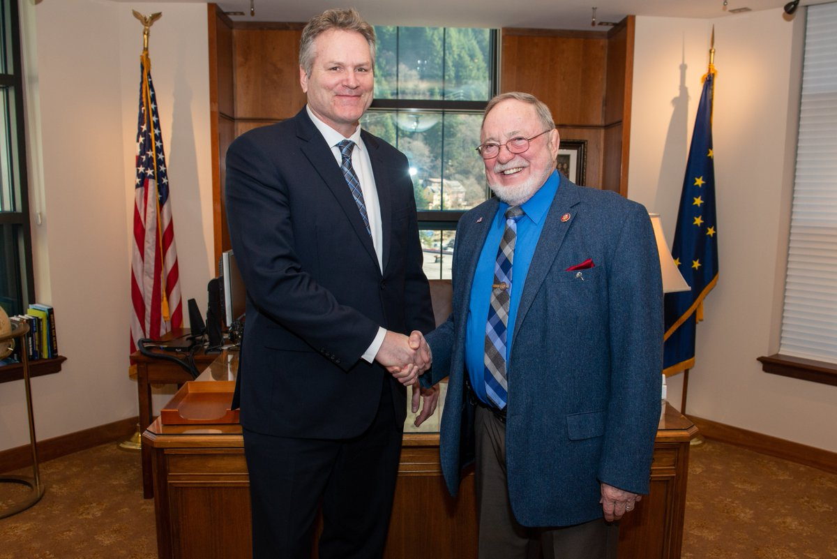 The Trump Administrations Slow But >> Governor Mike Dunleavy A Twitter It Was A Pleasure To Sit