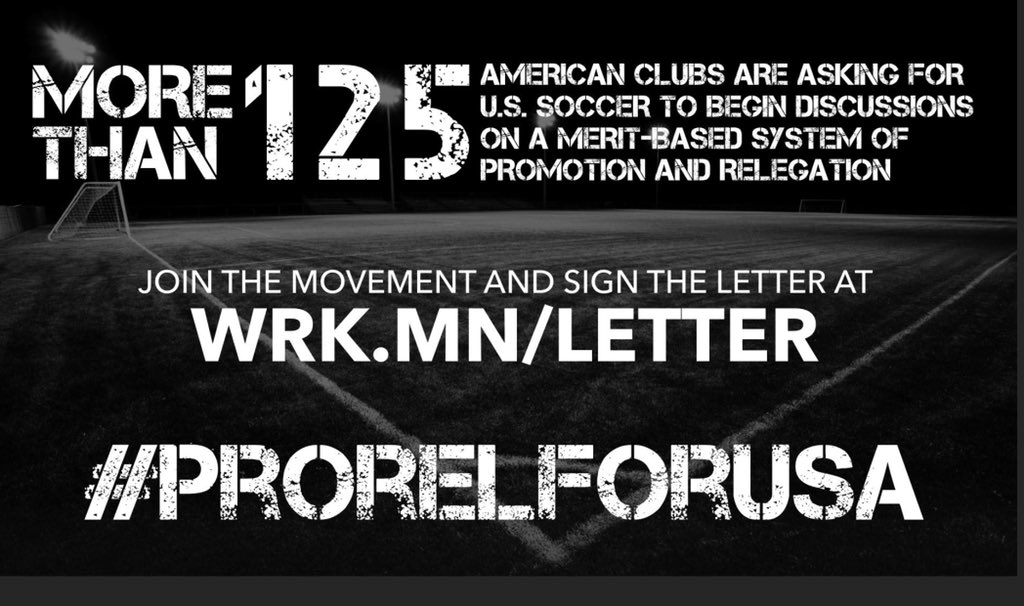 Feel free to join in by signing this historic letter & supporting #ProRelForUSA in the process  http://danielworkman.com/ussf-letter/   @FreedomsNYC @CSABronx @NYShamrockSC @Lansdownebhoys @NYGreekAmerican @NYACSoccer @Doxa_SC @ZsfcRI @cprangers @HobokenFC1912
