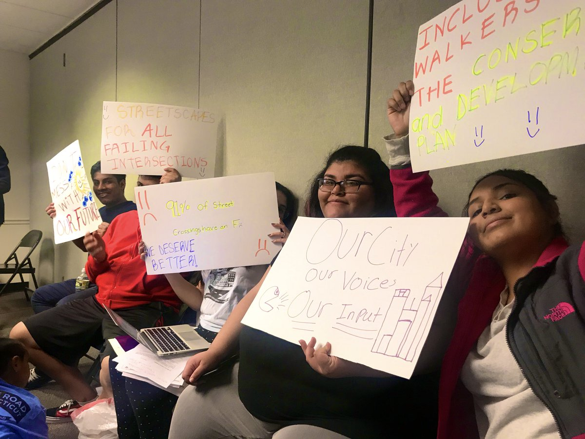 Way to go @MaketheRoadCT youth on working to make sure your voices are heard in your city!