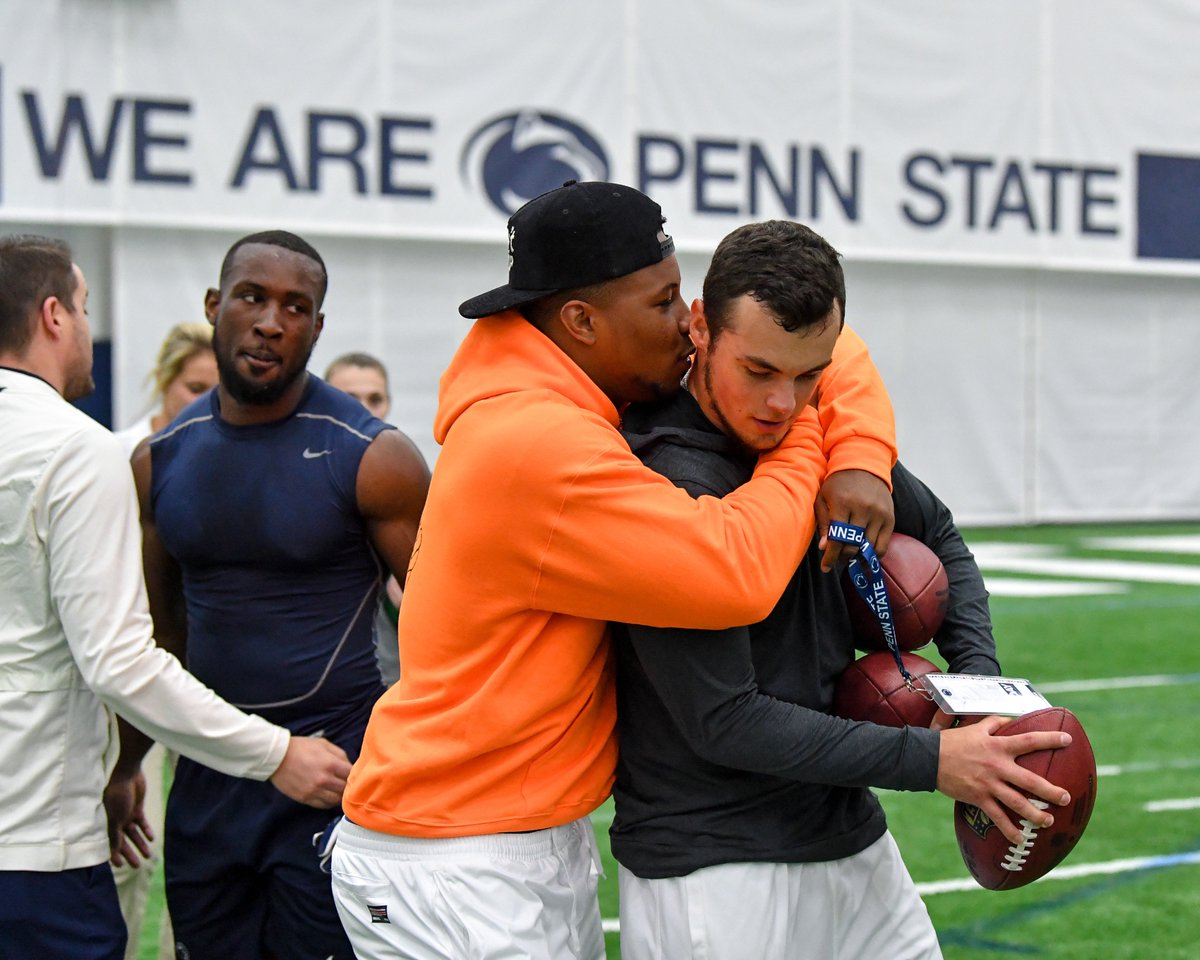 was in the house to support all of his brothers at #PSUProDay!  #WeAre<br>http://pic.twitter.com/TBLLUCriu2