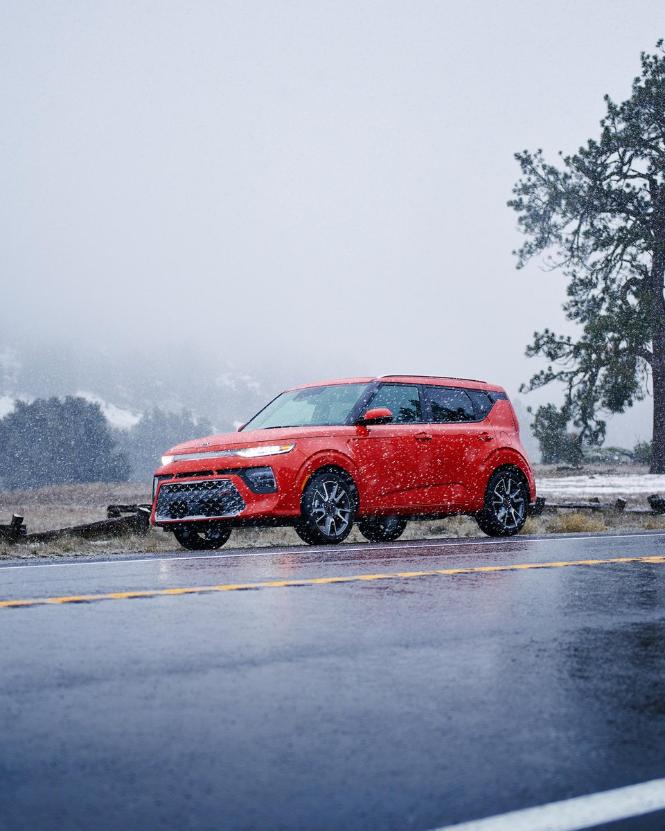 Master the art of windchill. #KiaSoul  http://bit.ly/2UK9NeP