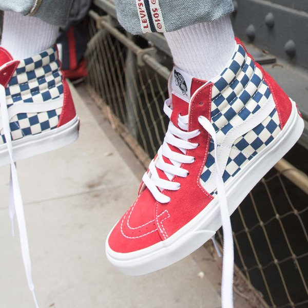 865c9cbcf2 Select sizes remain for the true blue red-white