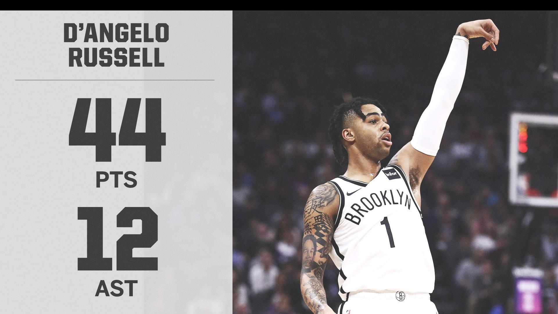 D-Lo went OFF for a career-high, including 27 in the 4th quarter alone ❄️ https://t.co/YpgSYhkuug