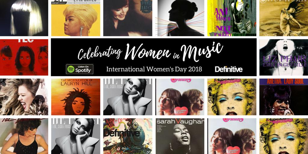 Who is your favorite female artist? #InternationalWomensDay #Spotify #playlist Here are a few of ours:<br>http://pic.twitter.com/cWBftFG8pU