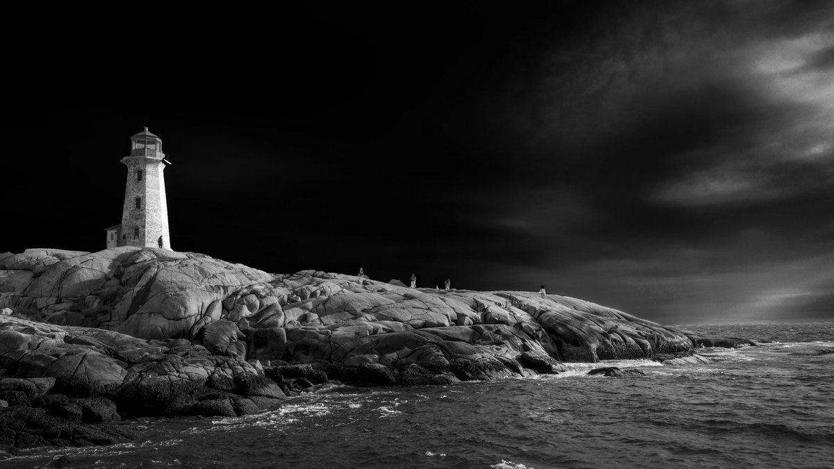 I travelled to Peggy's Cove, Nova Scotia to photograph this iconic #lighthouse only to find it under renovations.  Despite being stripped of its renowned white finish I still spent hours enjoying and admiring this #beautiful Canadian landmark! #NovaScotia #beautifulworld<br>http://pic.twitter.com/yih9huZn6G