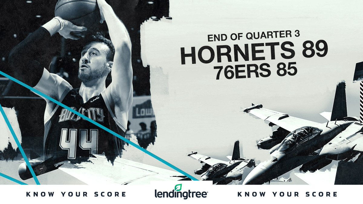 Top story: @hornets: '✅✅✅4️⃣  Know Your Score with @LendingTree | #hornets30 ' , see more http://tweetedtimes.com/helidonauries?s=tnp…