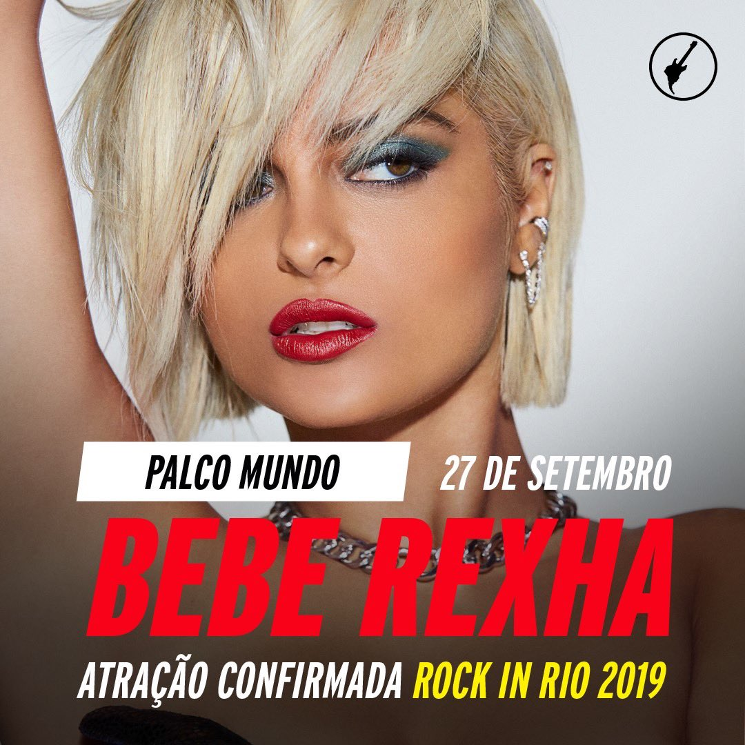 BRAZILLLLL I'm coming for @rockinrio and I'm SOOO excited to see you 🇧🇷🇧🇷🇧🇷 who's gonna sing Last Hurrah with me? #RockInRio