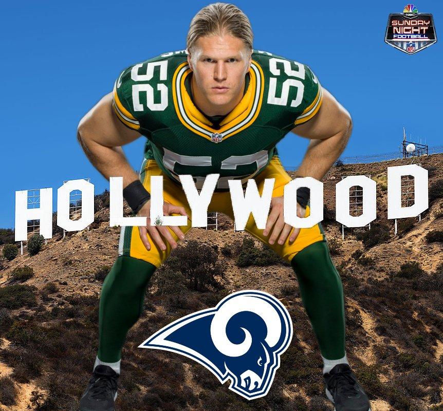 SNF on NBC's photo on Rams