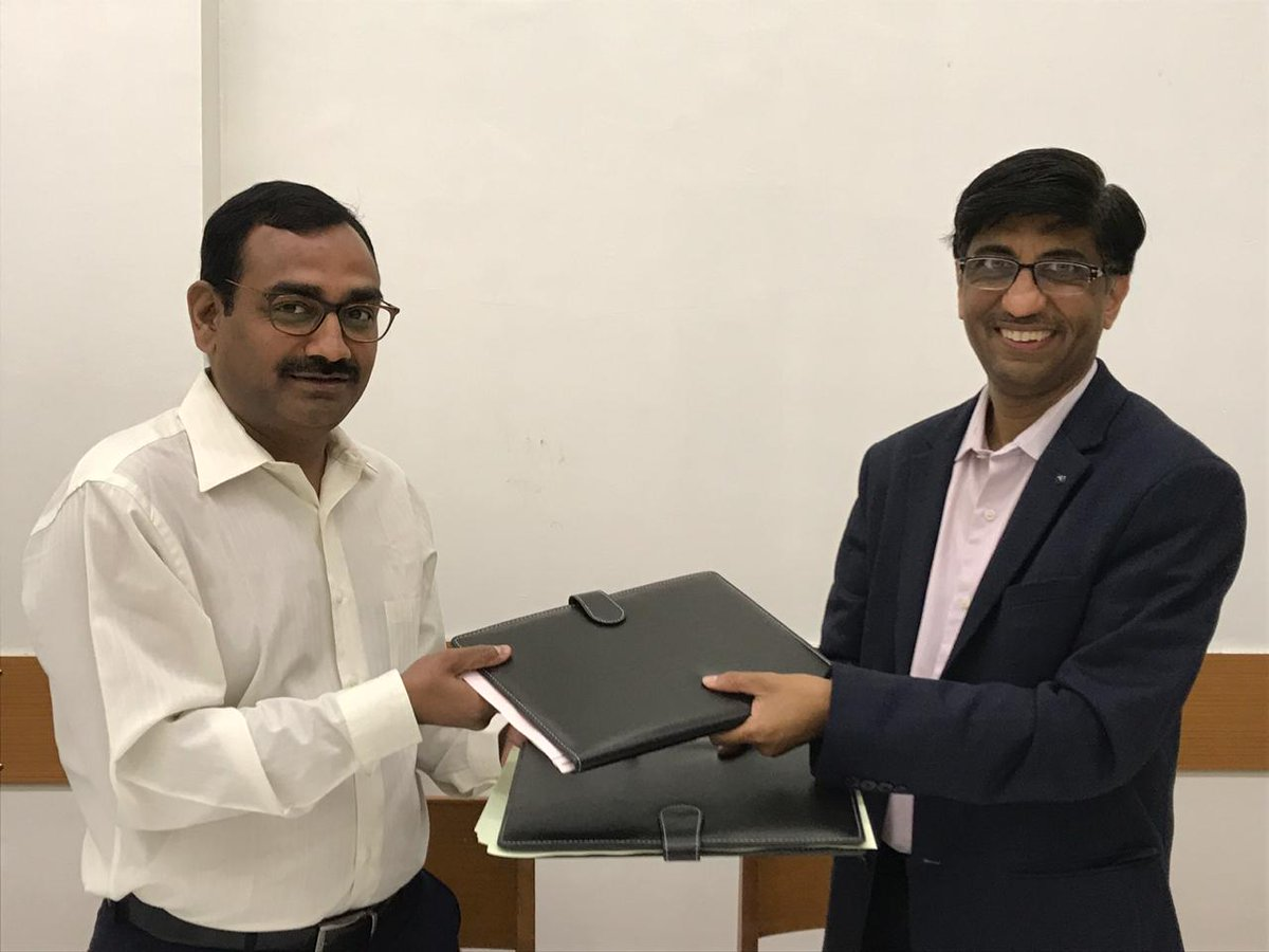 Bill &amp; Melinda Gates Foundation &amp; Tata Trusts have initiated India Agritech Incubation Network (#IAIN). It will be anchored by Collectives for Integrated Livelihood Initiatives (CInI) &amp; IIT Kanpur. An #MoU was signed to set up the #Agritech #incubator within IIT Kanpur.<br>http://pic.twitter.com/QtnsrUUnli