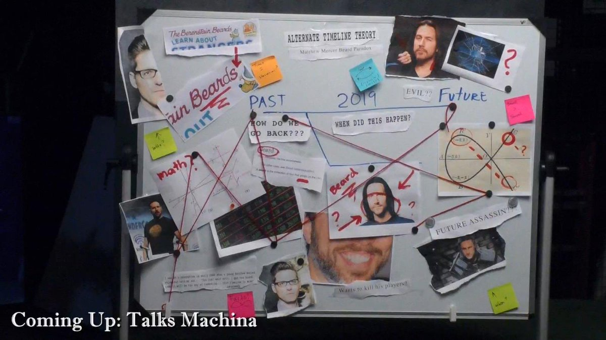 I think... I can just make out a pyramid in the data... #TalksMachina