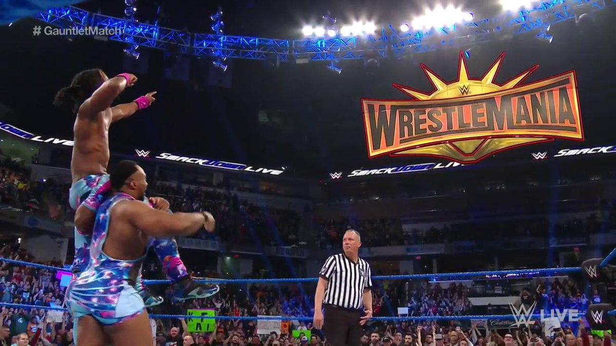 .@TrueKofi is going to #WrestleMania! #SDLive #GauntletMatch
