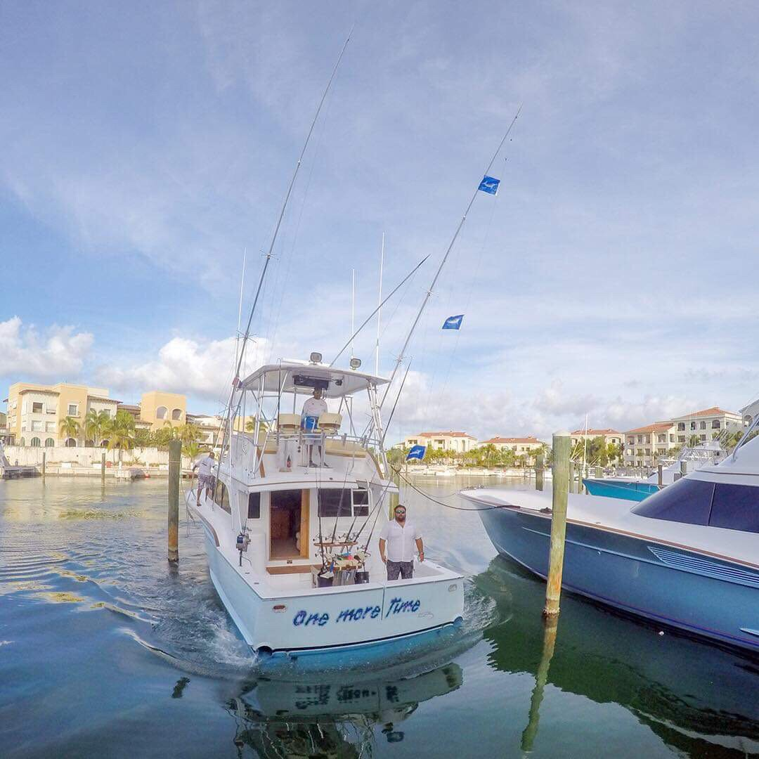 Cap Cana, DR - One More Time went 3-4 on White Marlin.