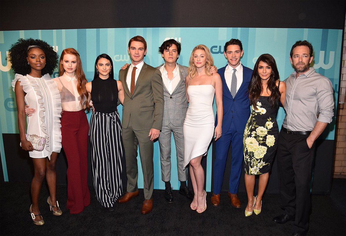 """""""Every episode for the rest of time on @CW_Riverdale will have a bit of Luke in it.""""  The executive producer of 'Riverdale' opens up about how it will move on after sadly losing Luke Perry. >> https://bit.ly/2tUpBzW"""