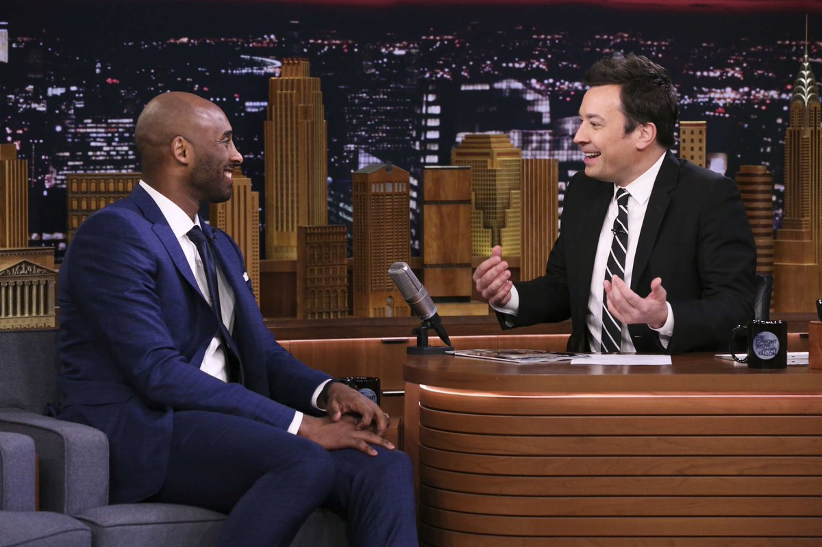 Thank you @fallontonight for having me! Had fun discussing @Granity's latest projects including our newest book, The #Wizenard Series: Training Camp. Tune-in tonight at 11:35ET to watch. The Wizenard Series is available now: http://bit.ly/kbwizenard    Photo by Andrew Lipovsky/NBC