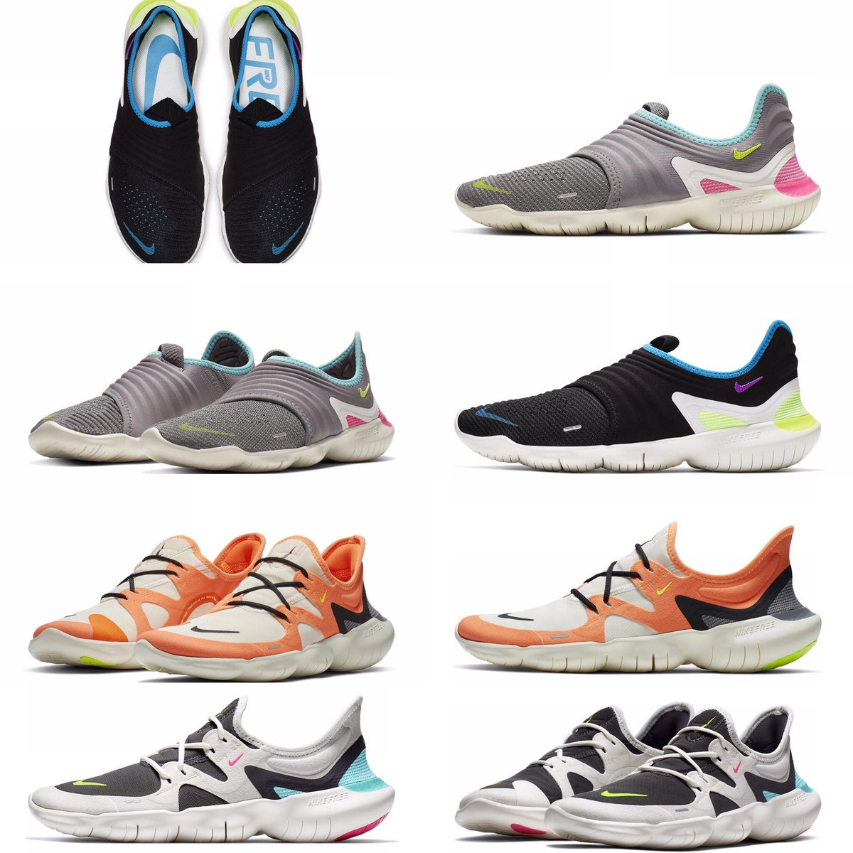 8b6e2d92932b9 The Legendary Nike Free Run Saga Continues With The 3.0 And 5.0 For 2019   sneakersarelife
