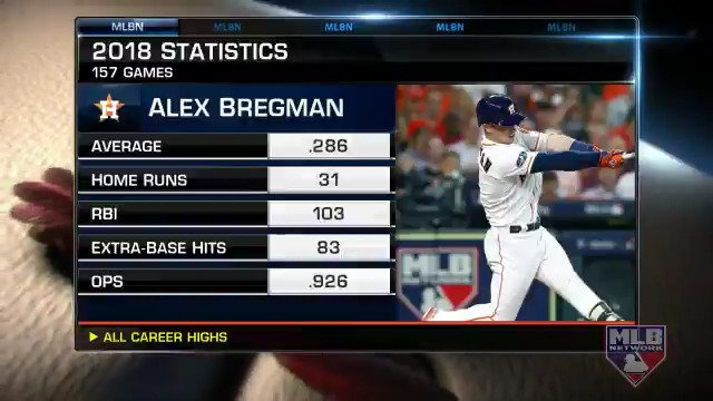 MLB Network's photo on Alex Bregman
