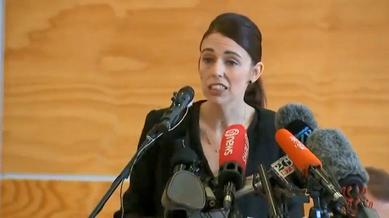 New Zealand PM Ardern visits the Cashmere High School in Christchurch, whose students and parent community were among those most impacted by recent attacks. https://reut.rs/2TiMWVW