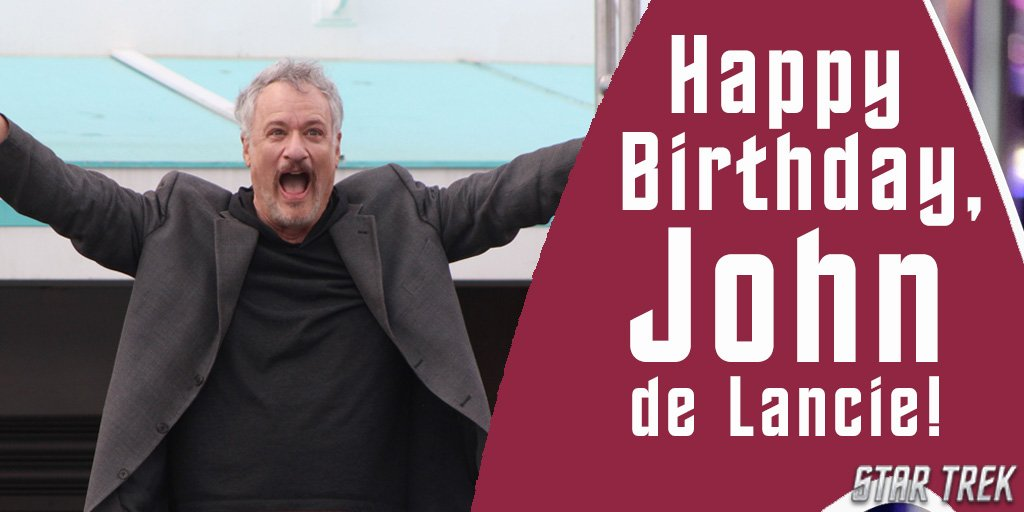 Celebrating @johndelancie&#39;s birthday like #BirthdayMood #HappyBirthday #StarTrek<br>http://pic.twitter.com/nUEjT4JI6H