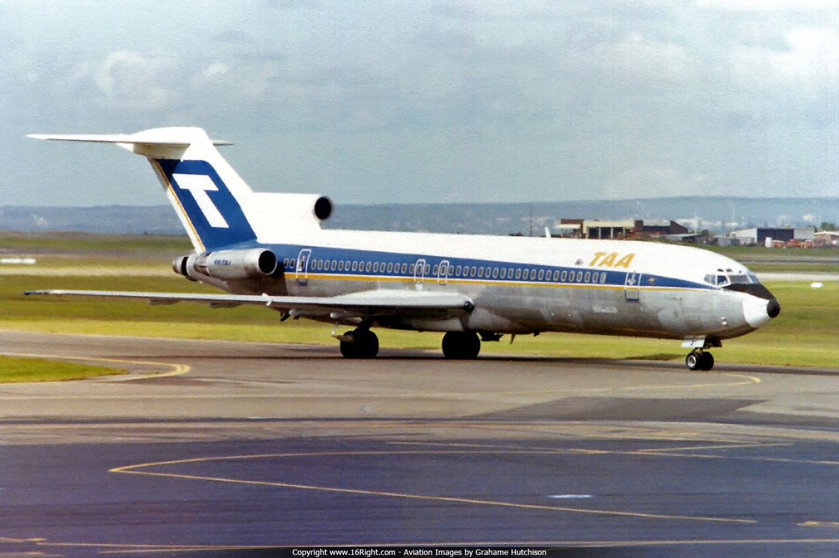Part 1:  Maybe a little history to get you through to #Friyay - Australia had a two airline policy from 1952 through to the 1990s, forcing the then TAA and Ansett to operate exactly the same fleet Types  <br>http://pic.twitter.com/RJfSn6Z9Ea