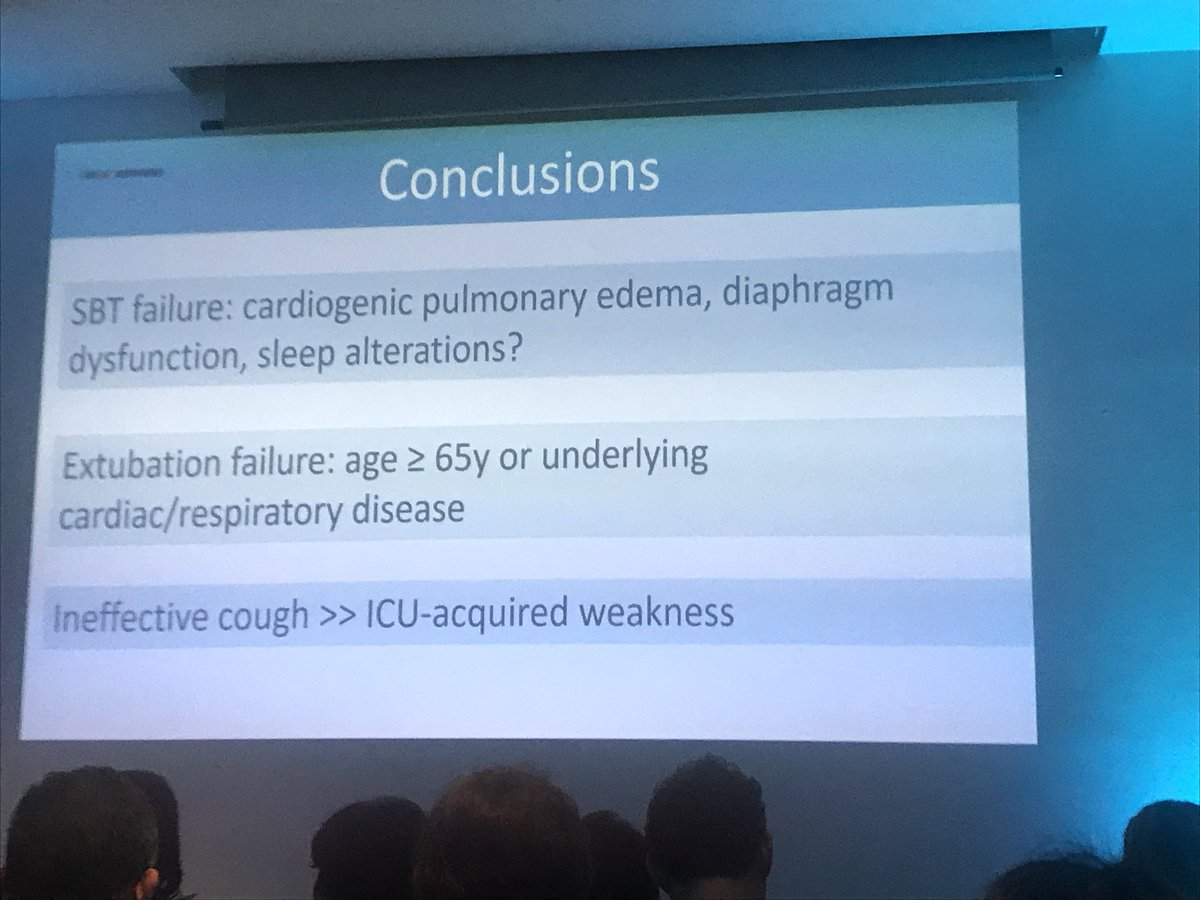 Ineffective cough appears to play a bigger role in extubation failure than the presence of ICU Acquired Weakness #ISICEM19 #isicem<br>http://pic.twitter.com/5Uz2Ih0qsE