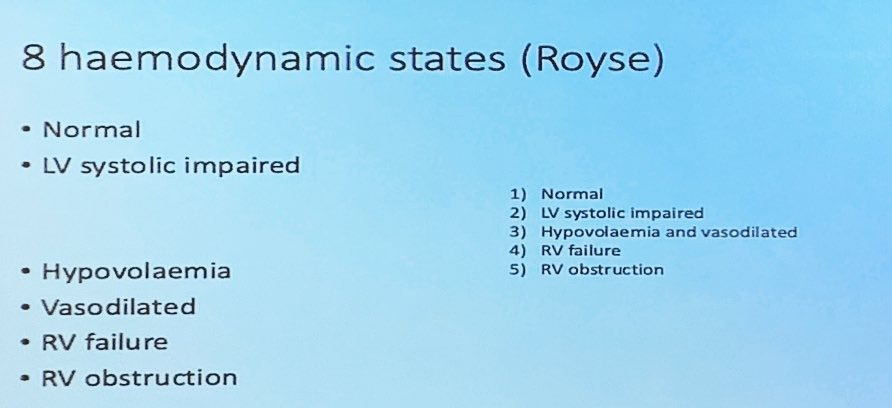 My good friend Craig Morris breaks down and simplifies the Royse criteria for haemodynamic failure assessment...#FOAMed #POCUS #FOAMcc @glenfield_aicu<br>http://pic.twitter.com/Sxv3mKHa1J