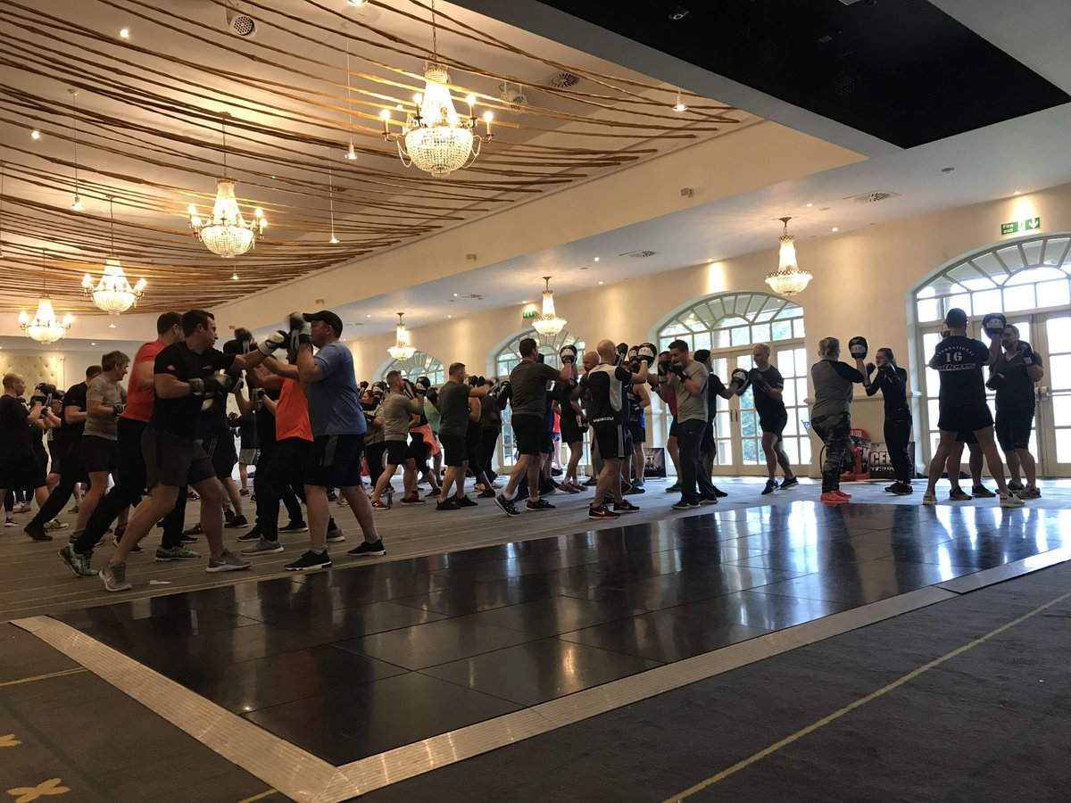 Our annual staff GM Conference is in full swing @HotelHastings with an early morning workout with @HattonBoxing ! https://t.co/nyFGouN9Vo