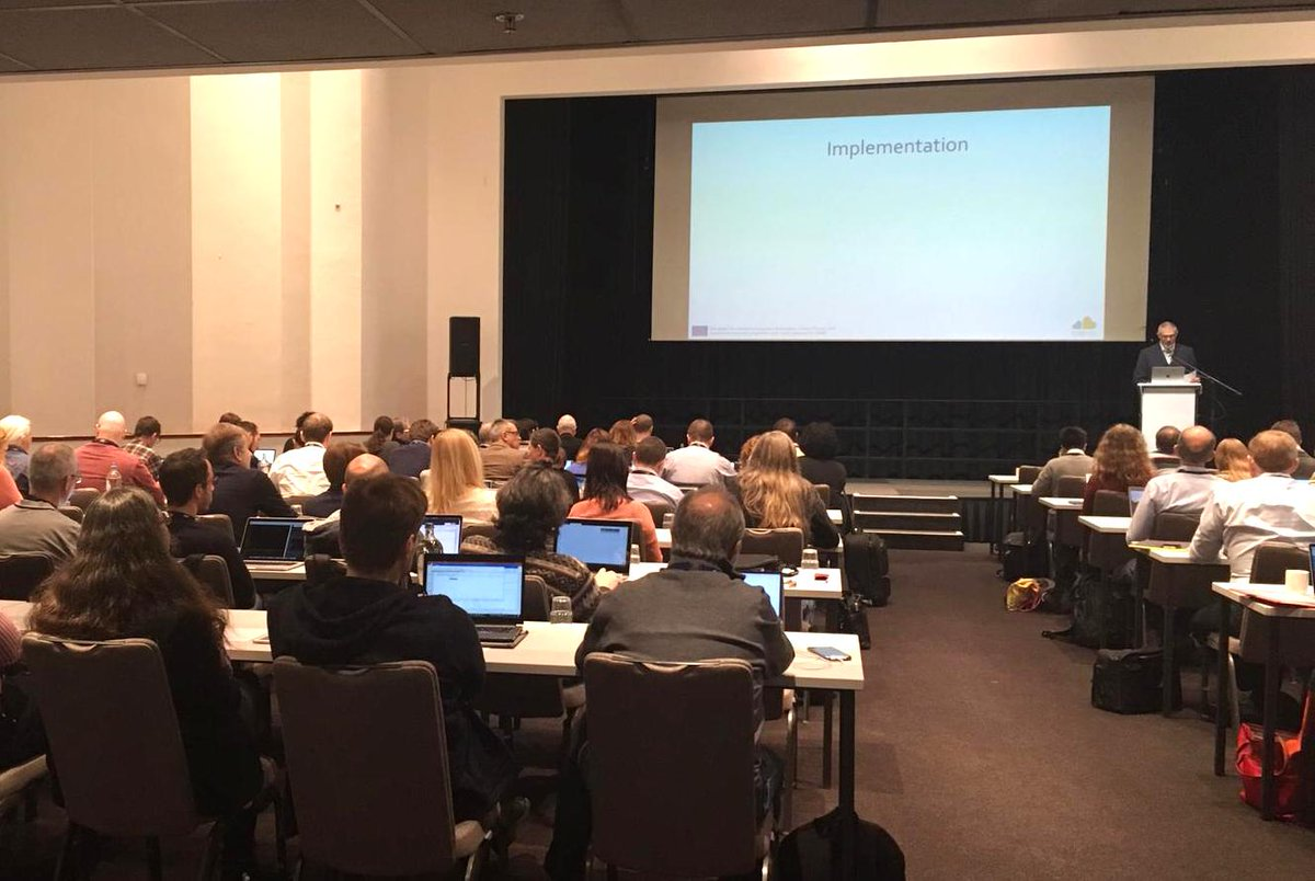 Today we're kicking-off @EoscLife! The kick-off meeting in Amsterdam brings together over 120 participants from 13 biomedical @ESFRI_eu research infrastructures! Read what's our goal: https://goo.gl/ZoyNiv  #eosclifekickoff #eosc