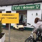 @sannewaldekker - Het gezelligste stembureau in de regio? Café Het Schaapje in Barendrecht 🍻 #verkiezingen @RTV_Rijnmond https://t.co/HoMqW5pbNA