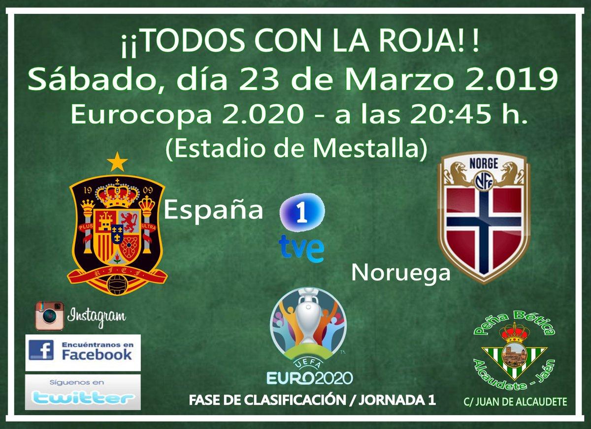 VUELVE LA ROJA !!!! 🇪🇸🇪🇸🇪🇸 ⚽⚽⚽ EUROCOPA 2.020 España - Noruega. (Fase de clasificación / Jornada 1) Malta - España. (Fase de clasificación / Jornada 2) (TVE 1)