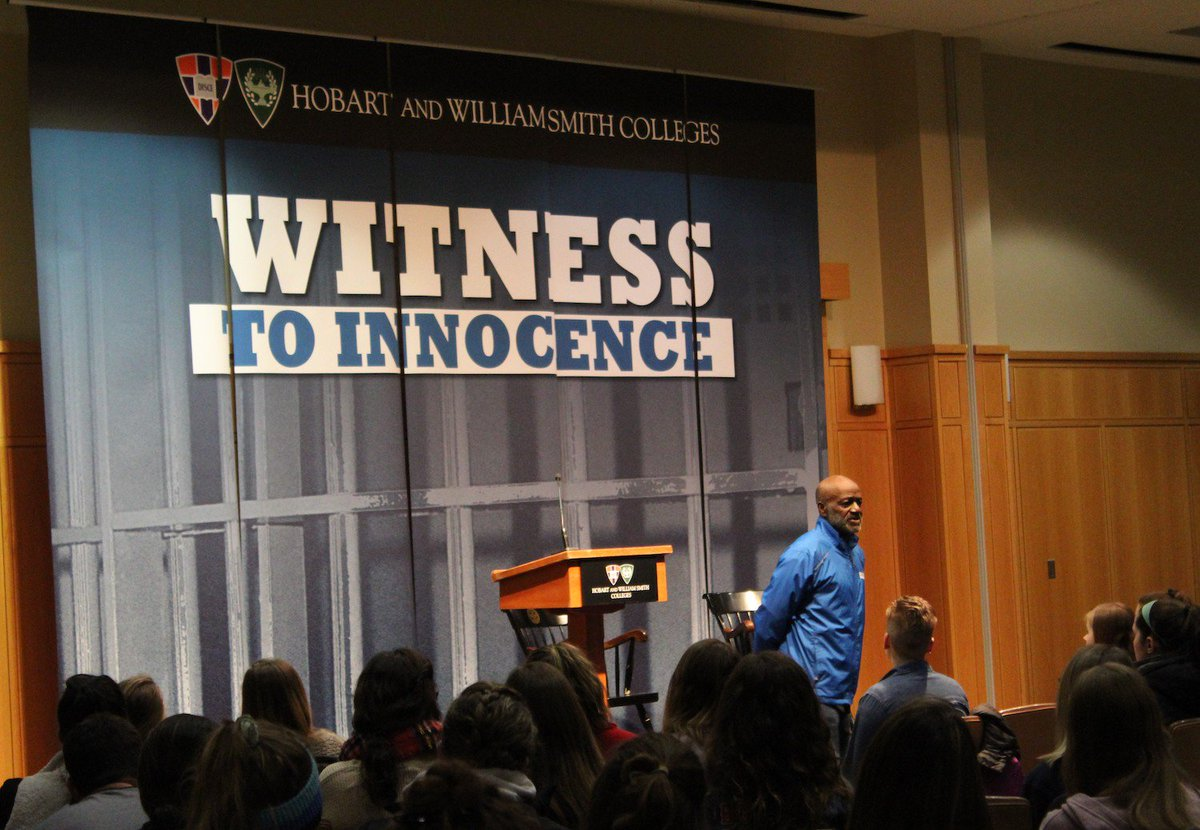 HWS gets visit, presentation on death penalty