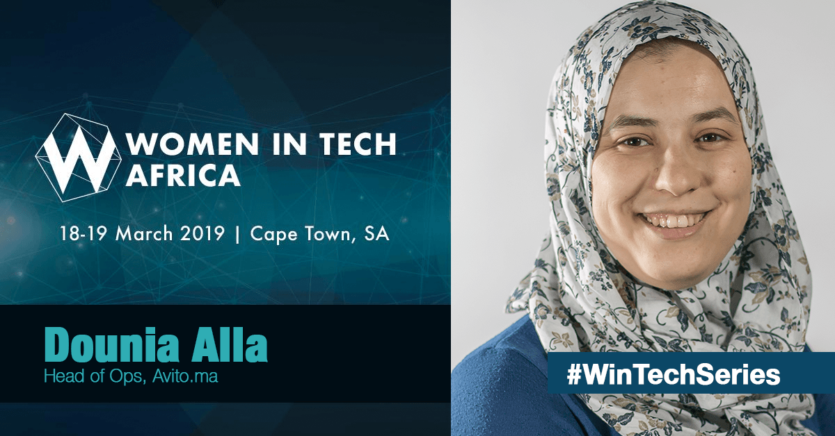 We're proud of our Senior DevOps Lead DOUNIA ALLA 👏🏻👏🏻!  Dounia spoke at @WinTechSeries held in Cape town, one of the biggest Women in Tech conference series in the world, she spoke about analysing the latest advances in Automation and their application in Businesses.