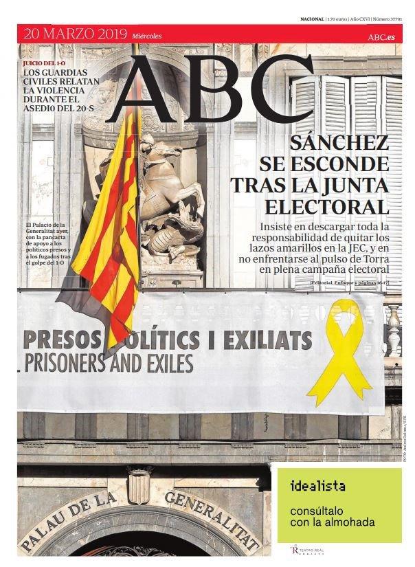 ¿Qué temas llevan a portada la prensa del día? Consulta aquí las primeras páginas de los diarios de este miércoles 20-M http://ww.cope.es/tquk8557