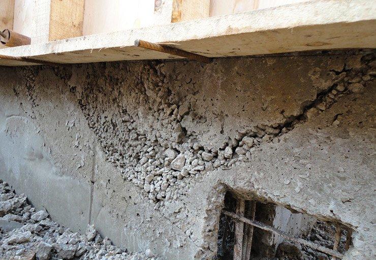 Как и почему разрушается бетон. Этапы ремонтных работ