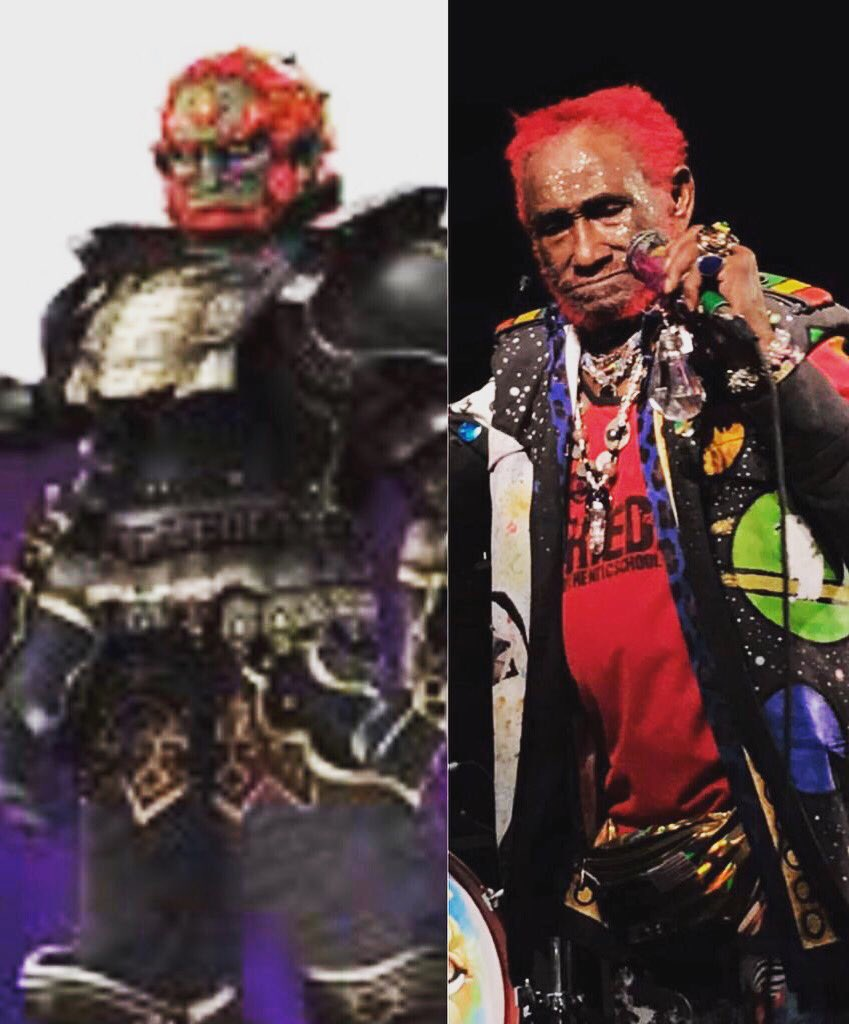 I DISCOVER THEY COPIED MY IMAGE FOR A FANTASY FIGURE  #GANONDORF  HOPEFULLY HE IS CONQUERING  EVIL? TONIGHT WILL BE A VERY SPECIAL NIGHT IN #PRESTON WITH MY BAND ERM · Easy Riddim Maker! MY #BIRTHDAY SHOW! COME AND CELEBRATE WITH US AND I WILL TURN ON THE LIGHT IN YOUR HEART!<br>http://pic.twitter.com/YVKaVSNozt