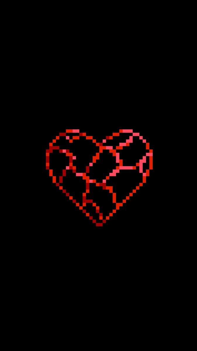スマホ壁紙作成アカウント On Twitter 自作壁紙 Blood Heart 血