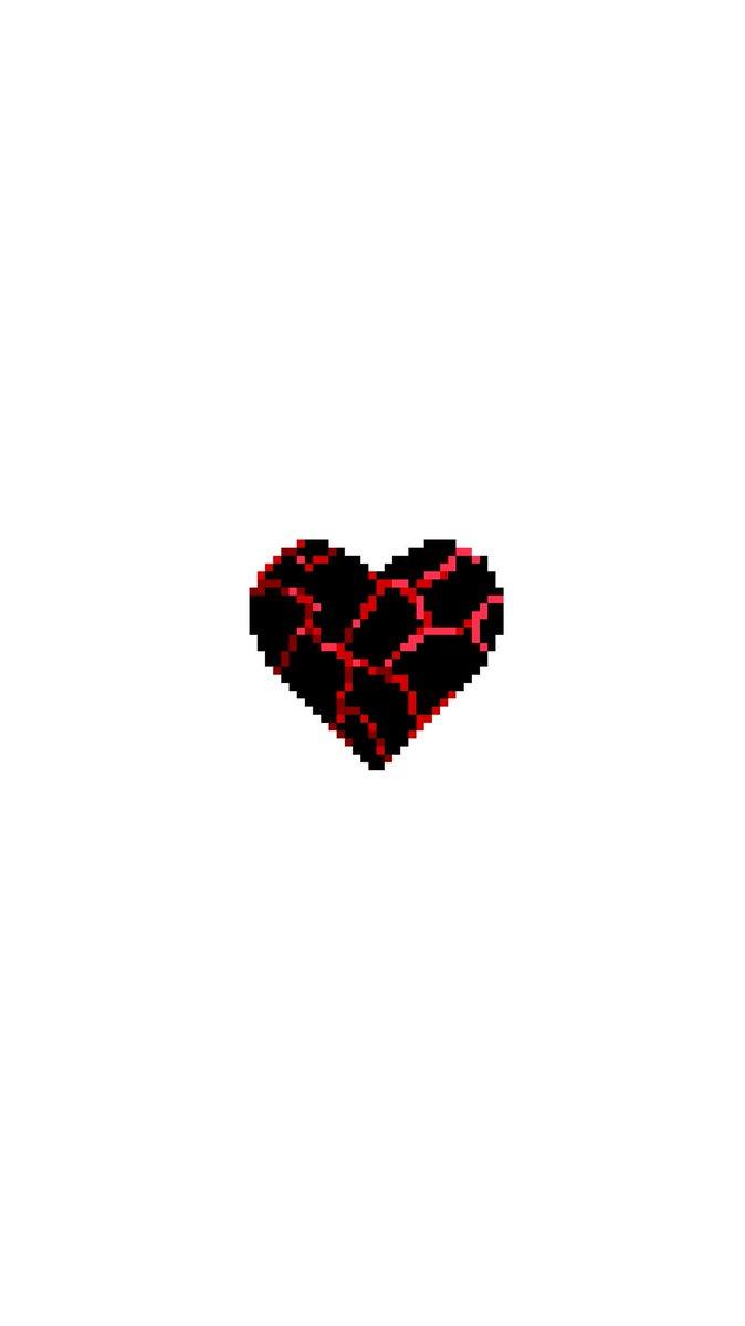 スマホ壁紙作成アカウント A Twitter 自作壁紙 Blood Heart 血