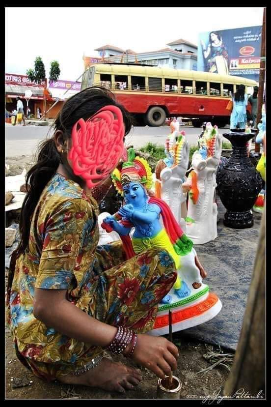 A 13 year old Rajasthani Girl who was selling Terracotta Statues in kerala kidnapped by Communist branch secretary&#39;s son! Since this happened in &#39;Secular&#39; state, mama/CITU media won&#39;t even dare to report it &amp; bollywood morons won&#39;t come up with placard too!  #JusticeFor_Krishna<br>http://pic.twitter.com/evlMYH3KqK