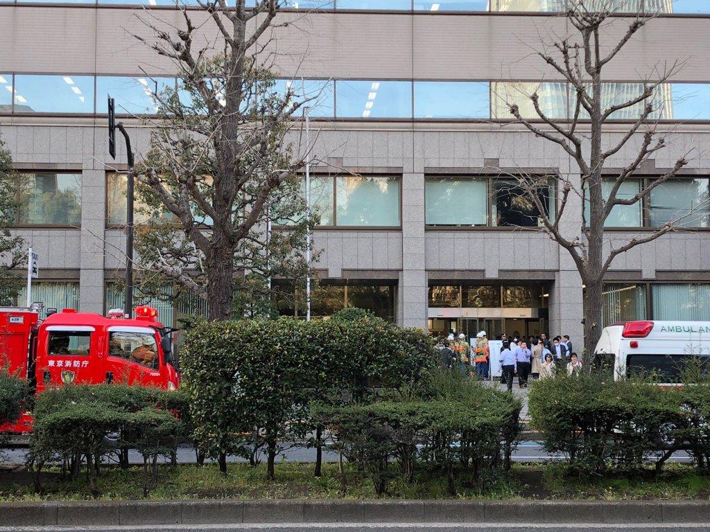 東京家庭裁判所で殺人未遂事件が起きた現場の画像