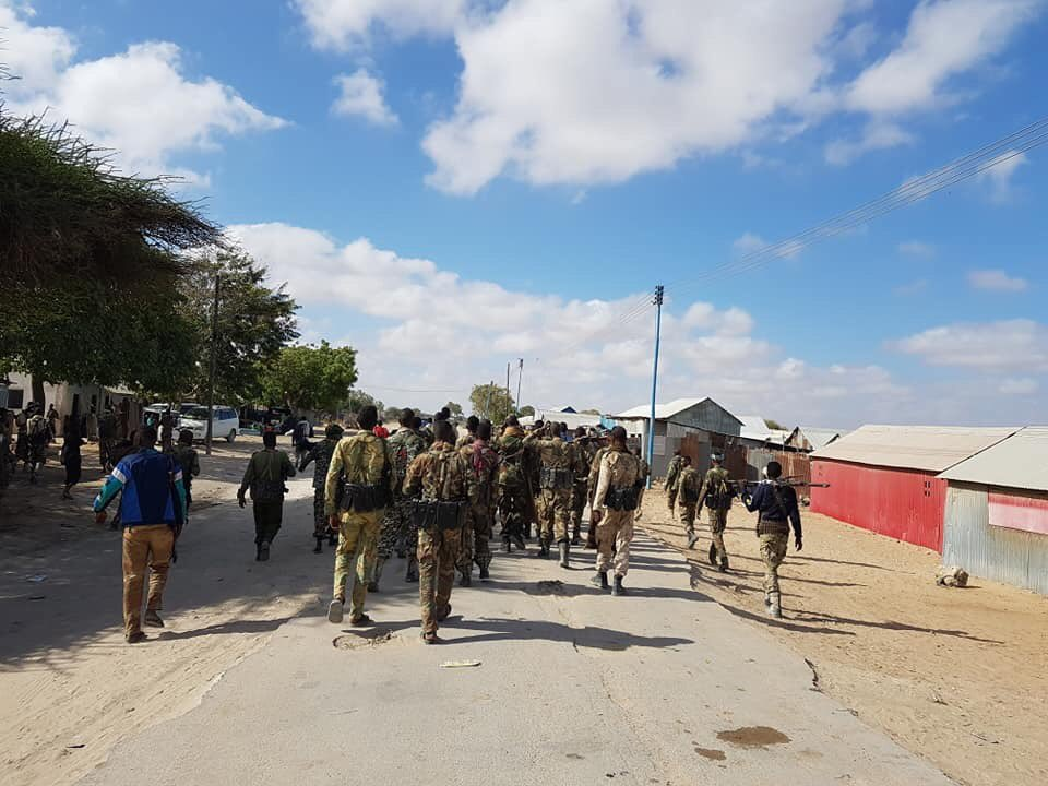 BREAKING SNA troops continue to withdraw from Mahadaay, Jowar and other villages as strike over salaries persist #Somalia