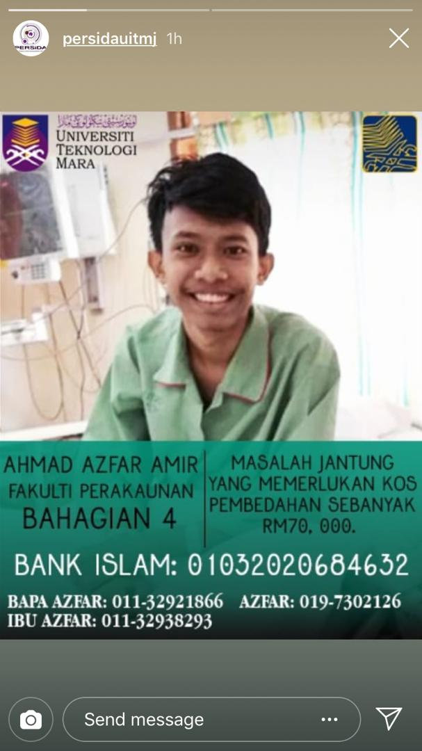 Can anyone please retweet this?  My friends needs donation,  he has heart problems and needs rm70000. #donate