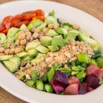Image for the Tweet beginning: Vegan Cobb Salad rivals the
