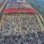 【驚愕】中国のハイウェイ...50レーンから4レーンって!?大丈夫なのだろうか...